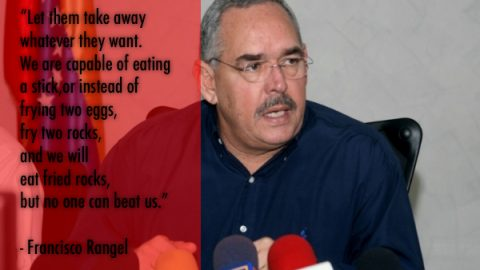"Venezuelan Governor Says Venezuela ""Will Eat Fried Rocks"" Before Accepting Capitalism"