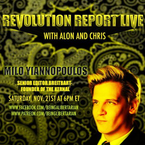 Milo Yiannopoulos – Mizzou Controversy – #DemDebate – RRL #3