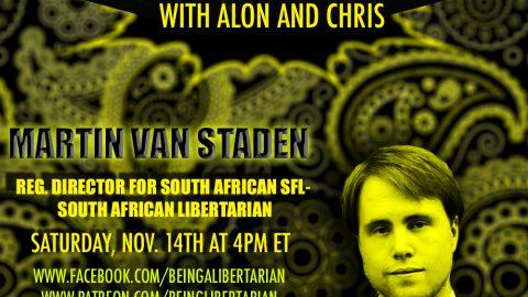 Martin Van Staden – Libertarianism in Africa – #RRL2