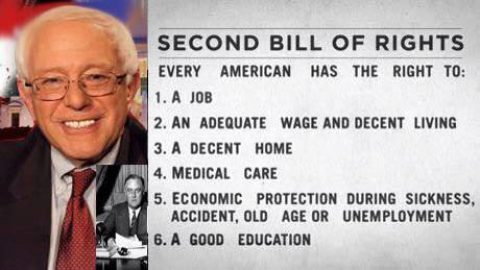 Sanders Socialism and the Peril of Positive Rights