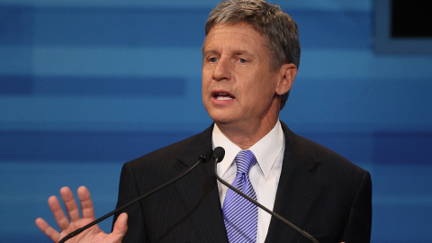 Gary Johnson's Critics can Eat Cake
