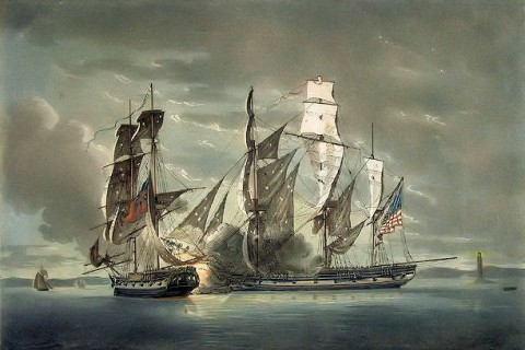 The Free Market and Naval Defense