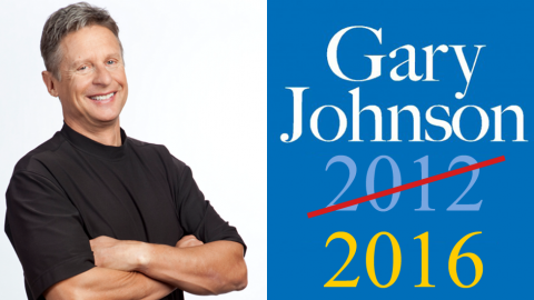 Gary Johnson announced as Libertarian Party Nominee