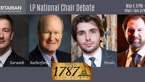 Live Stream: Watch The First Libertarian Party Chairperson Debate