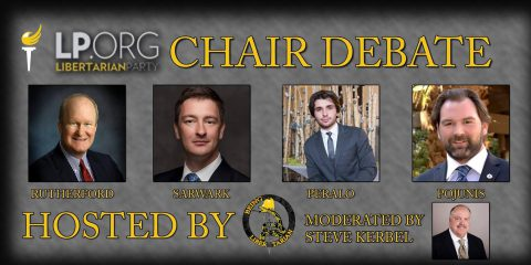 Live Stream: Watch Second Libertarian Party Chairperson Debate