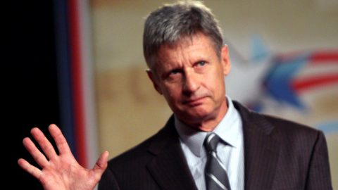 Prominent Political Commentator Endorses Gary Johnson