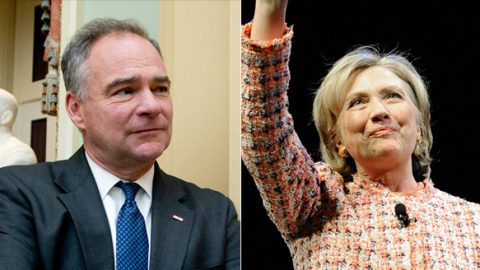 Hillary Clinton Selects Senator Tim Kaine As VP Pick