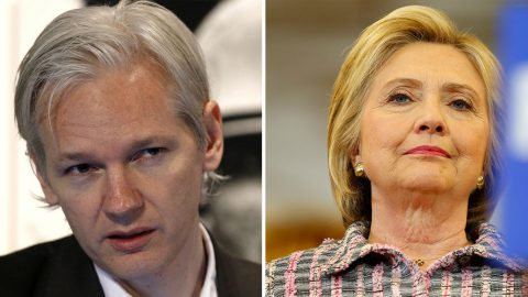 Julian Assange Calls Clinton Extortionist, Urges Americans to Vote Principle