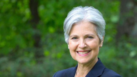 Police Remove Jill Stein From Presidential Debate Grounds