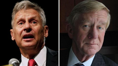 Johnson/Weld To Be Excluded From Debate Stage