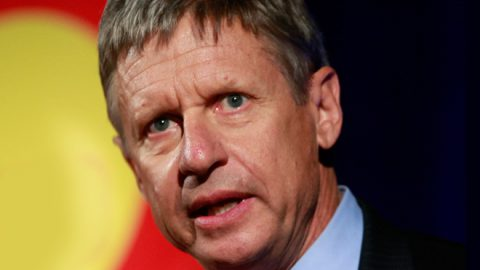 Gary Johnson Must Stop His Aleppo Moments