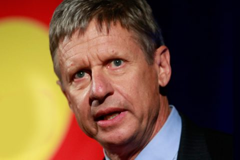 Gary Johnson Issues Statement On Aleppo Gaffe