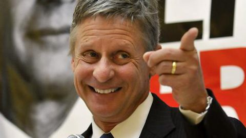 Why I Am Voting For Gary Johnson