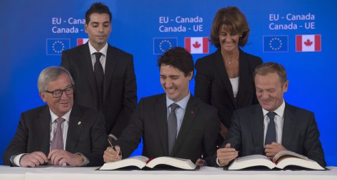 Canada, EU Sign CETA; Future Uncertain