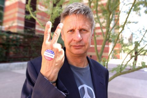 Why Gary Johnson Will Get Less Than 5% of the Vote
