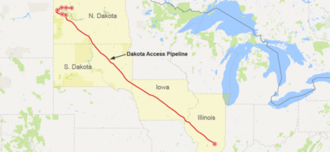 Dakota Access Pipeline Construction Denied