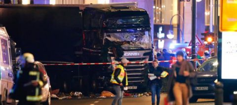 BREAKING: Truck crashes into Christmas Market in Berlin; 9 dead, at least 50 injured