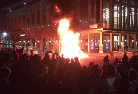 What I Saw at the Anti-Milo, UC Berkeley Riots!