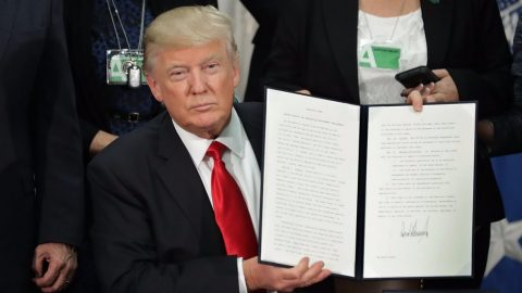 Trump Signs Executive Orders to Combat Crime