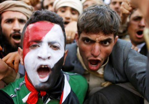 100,000 Yemenis Rally Against War
