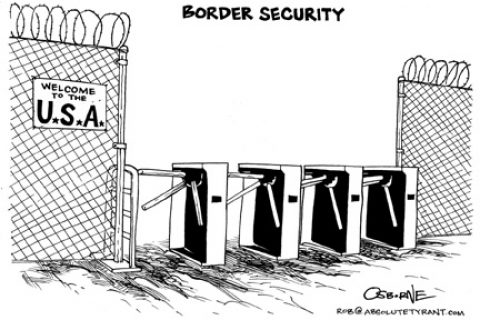 Open Borders and the Existence of Government