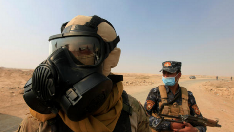 Mosul: First Chemical Attack Injures 12