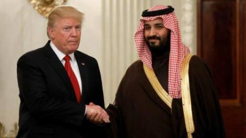 Saudi Crown Prince, President Trump Discuss Iran, Investments