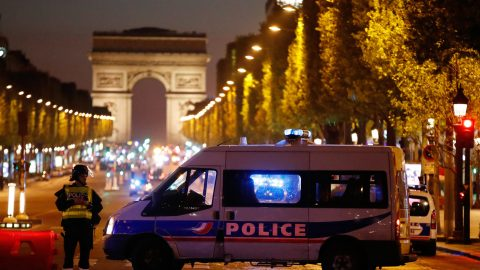 Paris Terror Attack Leaves Policeman, Gunman Dead
