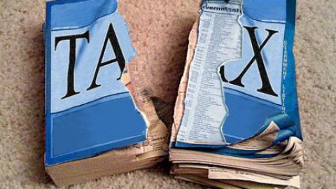 How shockingly easy it is to replace the Tax Code with a 9% Flat Tax