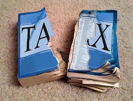 flat tax - being libertarian