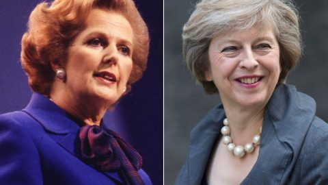 Theresa May is No Margaret Thatcher – The Right Engle