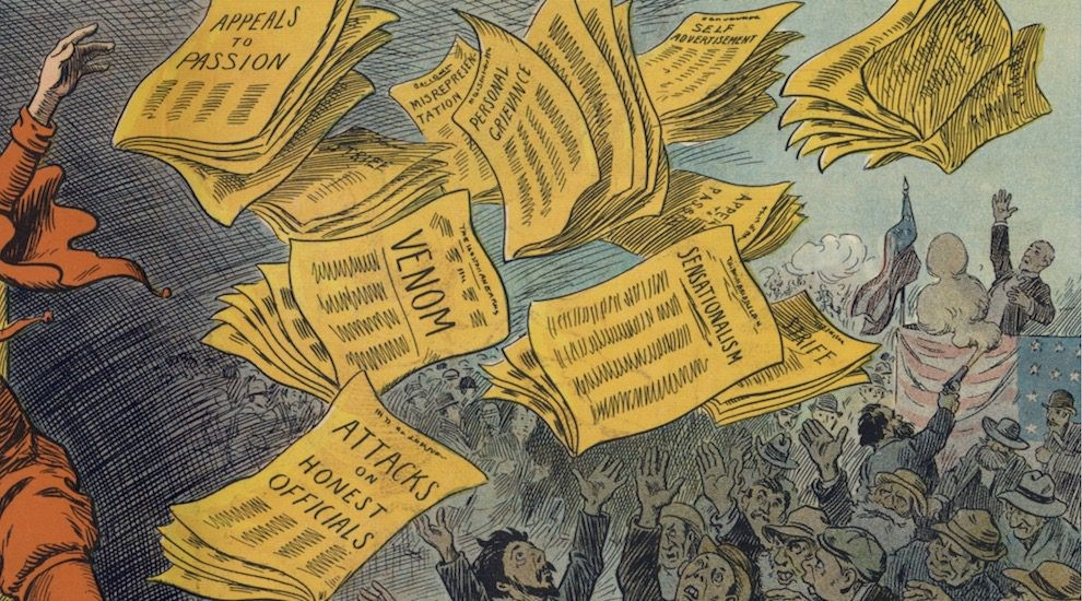 yellow press This is what is called yellow journalism which is indirectly the reason for the  spanish-american war this is not to say however that the editors of the  newspapers.