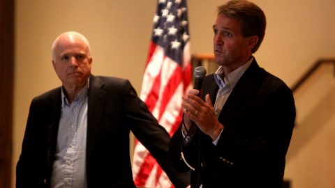 Jeff Flake's Stalin/Trump Comparison is an Insult to Real Victims of Oppression